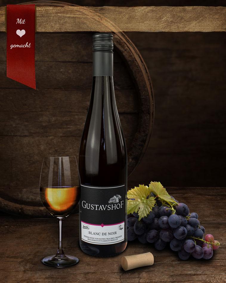 Bio-Rosé Wein - Blanc de Noir