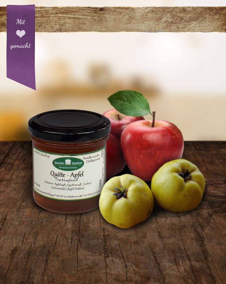 Quitte-Apfel Fruchtaufstrich