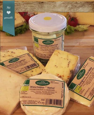*Ich liebe Käse!* Probierpaket