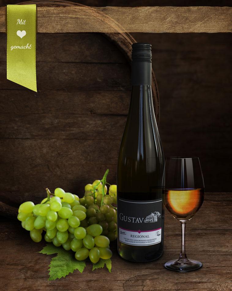 Bio-Weißwein Regional - trocken