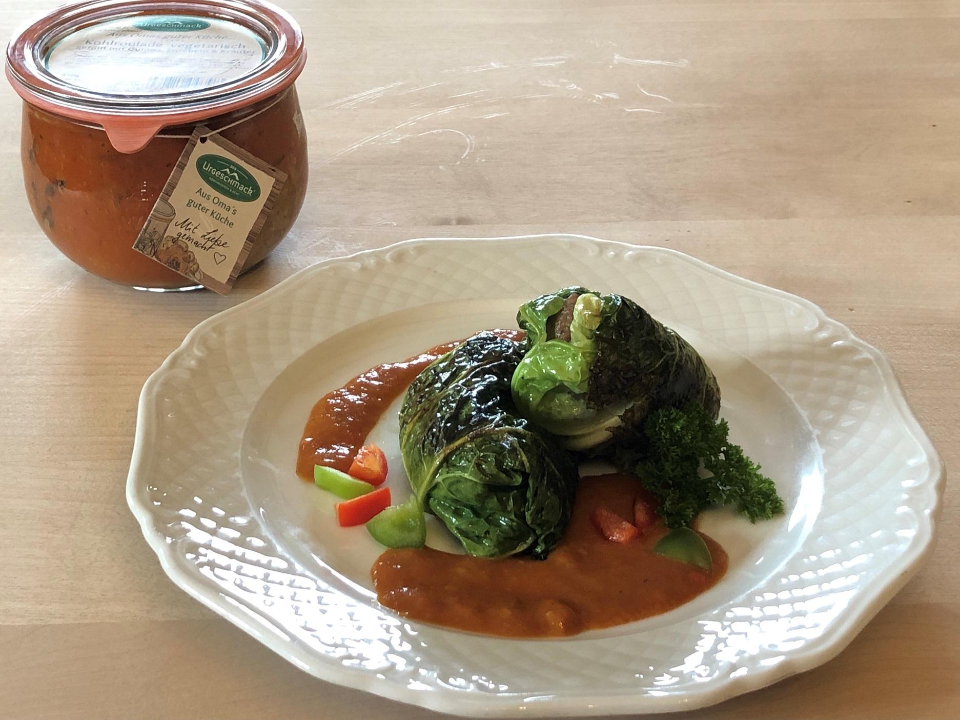 Kohlroulade - vegetarisch