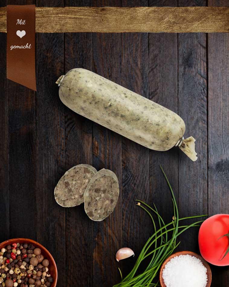 Bauernleberwurst * mittelfein - groß 900g